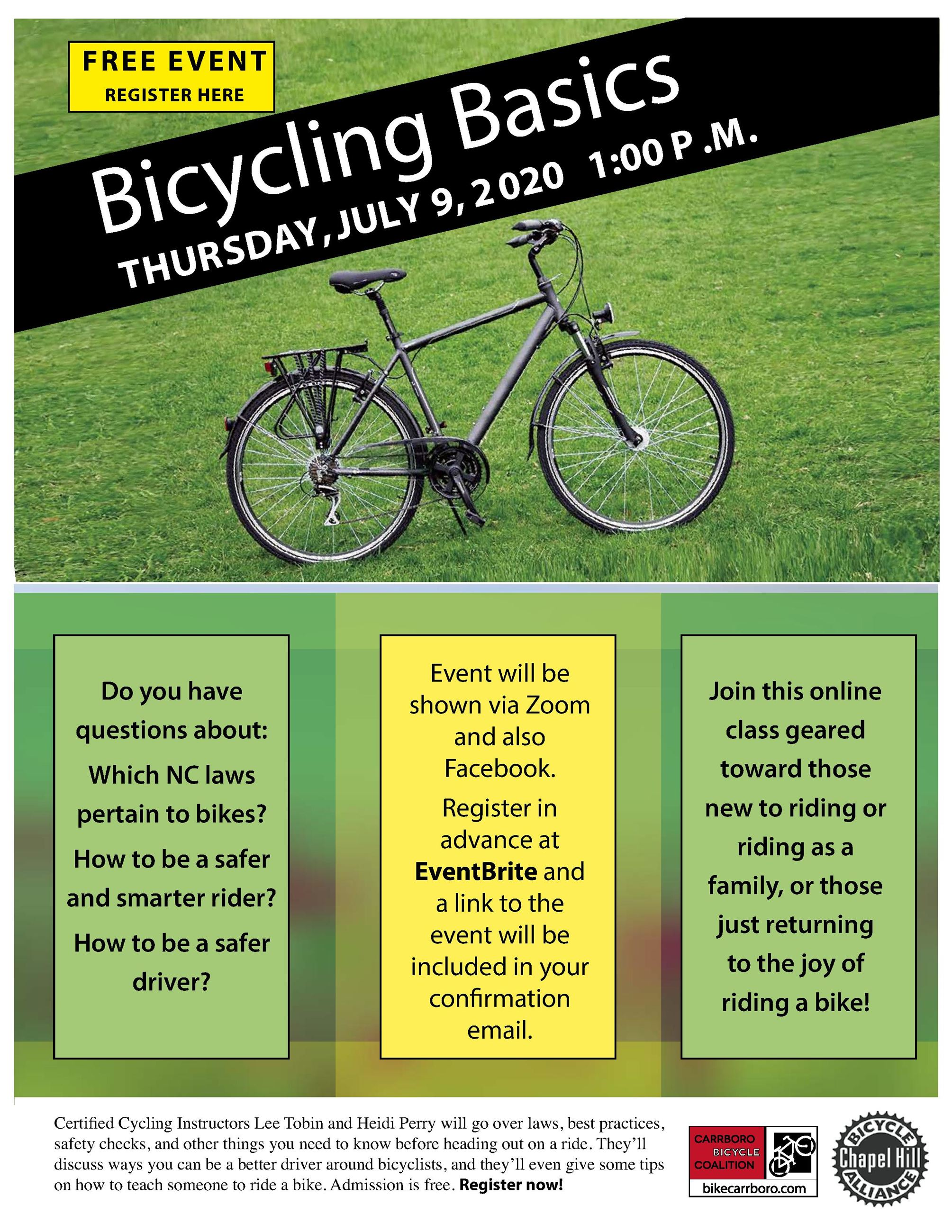 Bike Basics Flyer
