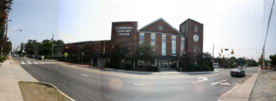 Frontal View of Carrboro Century Center