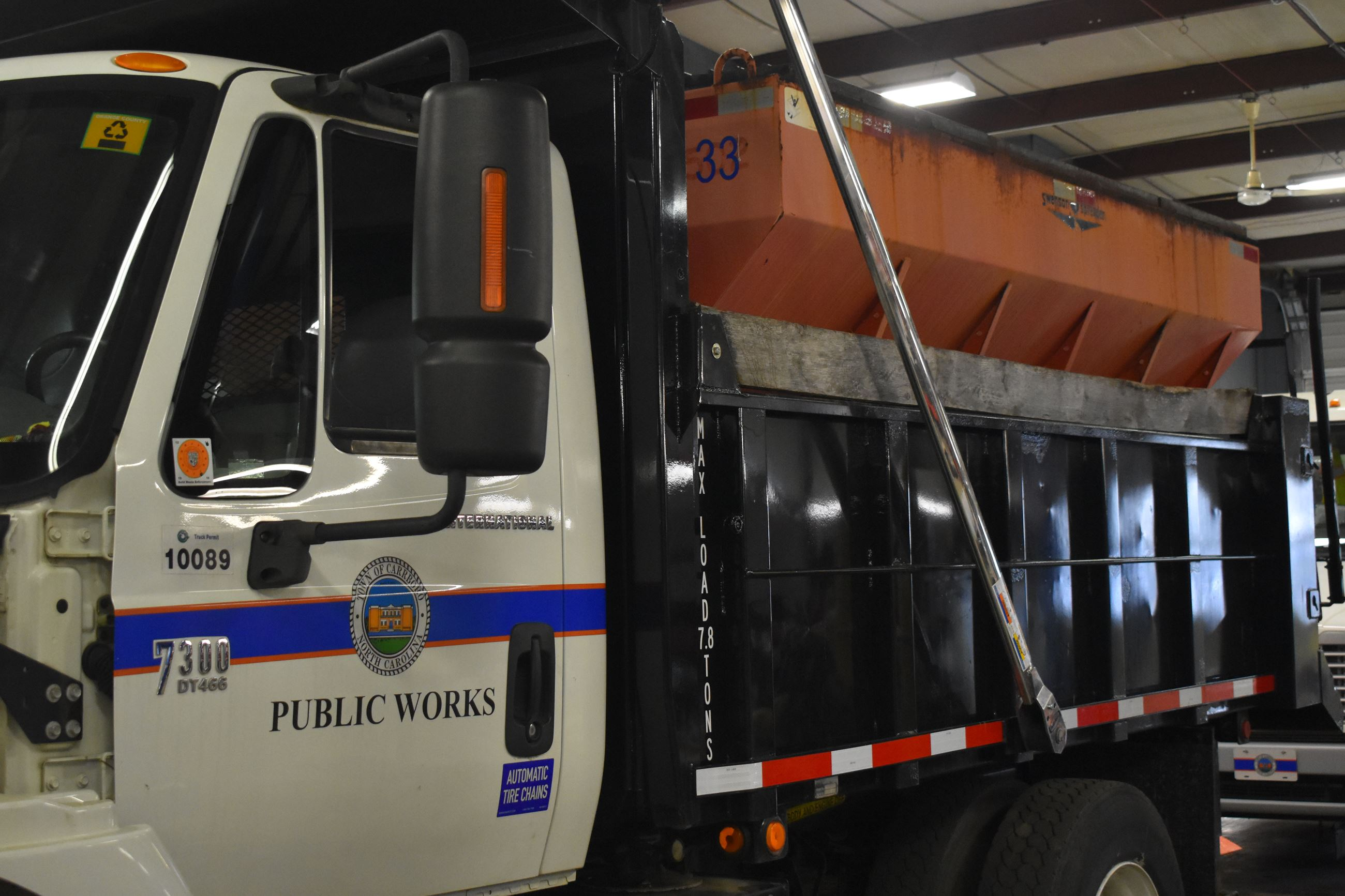 public works snow plow